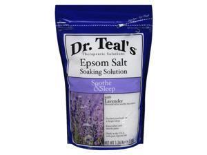 Dr. Teal's Epsom Salt Soothe & Sleep with Lavender, 3 lbs