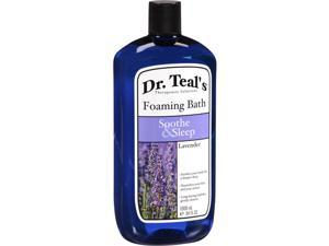 Dr. Teal's Soothe & Sleep Lavender Foaming Bath, 34 fl oz
