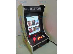 15 inch LCD Table top arcade Machine With Classical games 60 in1 Game PCB with Iluminated joystick and Round button good ...