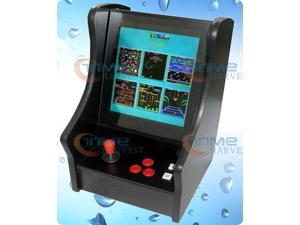 15 inch LCD Mini verticle type arcade table table top machine with Classical games 60in1 Game PCB/Spain joystick,American ...