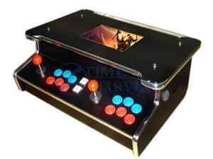15 inch LCD 2 Player Table Top Machine With 200 in 1 Game board and With Long shaft joystick and Illuminated button/desktop ...
