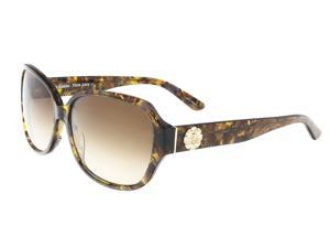 Juicy Couture - Juicy 591/S 0YL3 Brown Crystal Rectangle Sunglasses