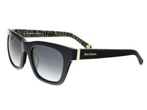 Juicy Couture - Juicy 585/S 807 Black Rectangle Sunglasses