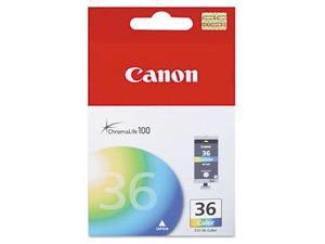 Color Ink Cartridge for Canon CLI36 PIXMA iP100, Genuine Canon Brand