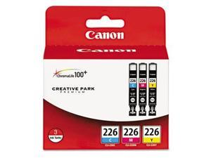 Canon® CLI-226 Ink Tank Cartridges&#59; 3-Pack, Tri-Color