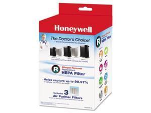 Honeywell Allergen Remover Replacement HEPA Filters HWLHRFR3