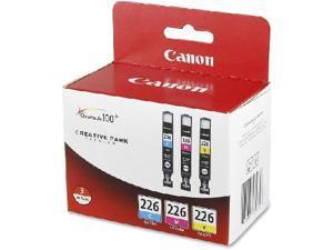 Canon CLI-226 3-pack ink tank&#59; Cyan, Magenta, Yellow (4547B005)