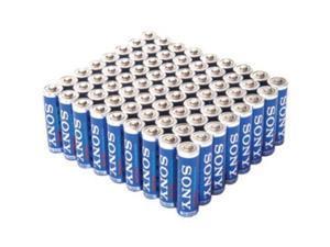 Sony AA (72) & AAA (72) STAMINA PLUS Alkaline Batteries