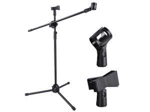 Adjustable Stage Microphone Tripod Stand for Boom Mics
