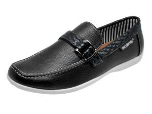 Akademiks  A-2671 Men's Ryan Slip-On Loafers - Black
