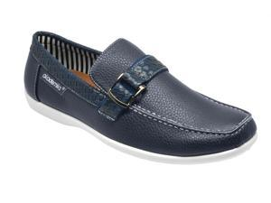 Akademiks A-2671 Men's Ryan Slip-On Loafers - Blue
