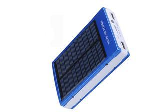 New 10000mAh Solar Power Bank Battery Charger for Mobile Cell Phone