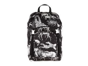 PRADA MEN'S NYLON RUCKSACK BACKPACK TRAVEL  SURVIVER BLACK