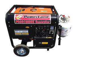 POWERLAND PORTABLE TRI-FUEL GASOLINE PROPANE NATURAL GAS GENERATOR 10000 WATT 16 HP