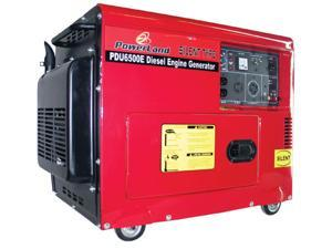 POWERLAND 6.5 KW SILENT DIESEL GENERATOR ELECTRIC START REMOTE CONTROL