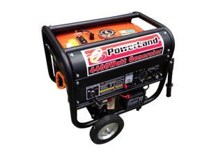POWERLAND PORTABLE GAS GENERATOR 4400 WATT 7.5 HP ELECTRIC START