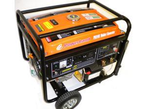 POWERLAND 210 AMP WELDER 4000 WATT GENERATOR 16HP ELECTRIC START
