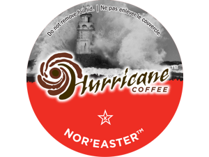 """Hurricane Coffee """"Nor' Easter"""" (24) Count Single Serve Coffee K-Cups. Keurig Compatible."""