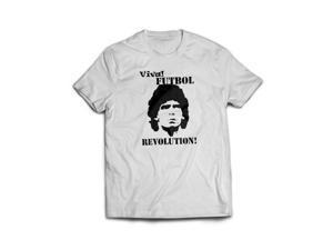 Stabilitees Viva Futbol Revolution World Cup Slogan T Shirts