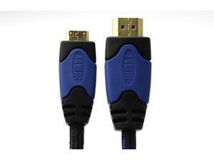 Tekit 16.4 ft/5m HDMI Male to HDMI mini Male High Speed Cable M-M