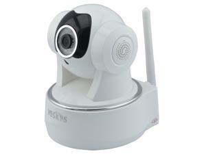 VESKYS N622W 720P 1.0MP HD Wireless IP Network Camera w/ Wi-Fi / 10-IR LED / TF / Mic /Day/Night, 2 Way Audio PTZ IP Camera ...