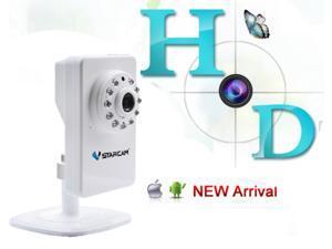 VStarcam T7892WIP 1.0MP 720p  P2P/Plug&Play mini IP Network Camera /Wi-Fi Wireless /Micro SD Card Solt/Indoor Security--Black