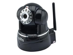 VESKYS N620W 1.0MP 720P  Plug and Play HD Wireless IP Network Camera w/ Wi-Fi / 10-IR LED / TF / Mic /Day/Night, 2 Way Audio ...