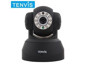 Upgraded TENVIS P2P Plug&Play Dual Audio Pan&Tilt Wireless IP Camera with IR Night Vision Motion Detection Email/FTP Alarm ...