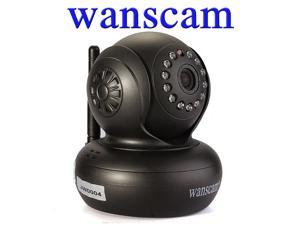 Wanscam Wireless PNP Dual Audio Pan/Tilt Infrared CCTV Security Internet Network IP Camera Motion Detection Wi-Fi Video Monitoring ...