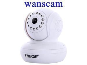 Wanscam 720P HD 1.0 MP P2P TF SD Card IR Cut PanTilt Wi-Fi Indoor Security IP Internet Camera Dual Audio Wireless CCTV Webcam ...