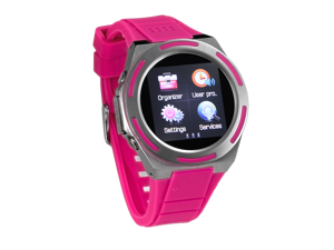 General	Distinguishing Features	Water resist Sports Smart Watch phone (PINK)