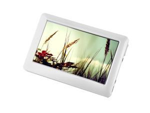 "4.3"" HD Touch Screen MP5 Player - White (8GB) MP3 MP4"