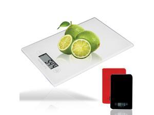 new Touch screen electronic kitchen scale medicinal scale food scale digital display electronic scale white