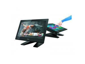 "ViewSonic TD2340 Black 23"" USB Capacitive IPS-Panel Multi-Touch Monitor Built-in Speakers"