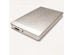 U32 Shadow™ 500GB External USB 3.0 Portable Hard Drive Silver