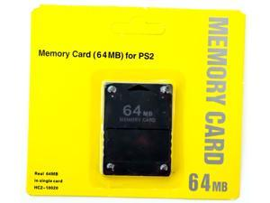 OLD SKOOL 64MB Memory Card Game Memory Card for Sony Play Station 2 PS2