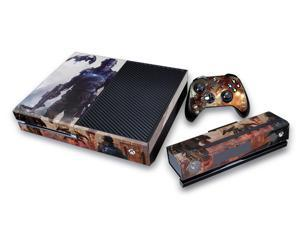 Bestdown Protective Vinyl Skin Decal Cover for Microsoft Xbox One ( for xbox one console+ Controller+kinect)