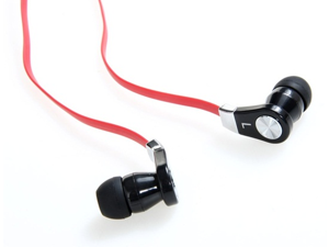 LANGSTON JM02 Flat Cable In-Ear Stereo Headphone with Microphone