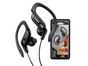 JVC HA-EB75B Sports Ear Clip Headphones Black HAEB75 earphones Genuine