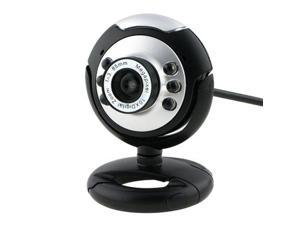 USB 6LED Night Vision Webcam Camera Web Cam With Mic for Desktop PC Laptop Fosmon Premium 12MP