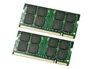 4GB Kit 2*2GB DDR2 800 MHz 200-pin PC2 6400 cl5 1.8 V Unbuffered Non-ECC Sodimm Memory for IBM Lenovo HP Dell Laptop