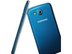 Samsung Galaxy Grand 2 Duos G7102 Blue 3G Quad-Core 1.2GHz Unlocked GSM Dual-SIM Cell Phone