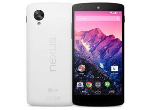 "LG Nexus 5 D821 White 16GB (FACTORY UNLOCKED) 4.95"" 2.3GHz Quad Core 8MP"