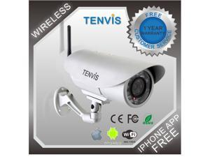 TENVIS IP391W Wireless IP Camera Webcam Network Security IR-Cut Outdoor Waterproof Night Vision Motion Detection Wifi