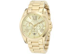 Michael Kors Bradshaw Chronograph Gold-tone Unisex Watch MK5605