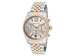 Michael Kors Lexington Chronograph Tri-Tone Ladies Watch MK5735