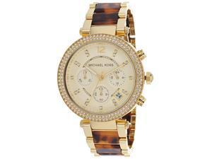 Michael Kors Parker Chronograph Tortoiseshell Ladies Watch MK5688