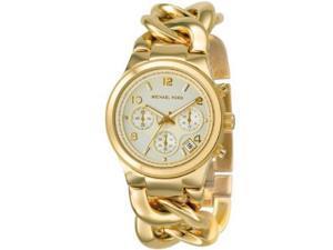 Michael Kors Runway Twist Chronograph Gold-tone Ladies Watch MK3131