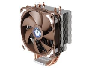 ID-COOLING SE-214 Universal CPU Cooler Intel & AMD, 4 Direct Touch Heatpipe, 120mm PWM Fan with Noise Absorption Rubber Pads