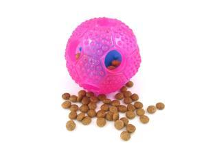 Pet Dog IQ Treat Ball Interactive Nontoxic Thermoplastic Rubber Dog Chew Toys